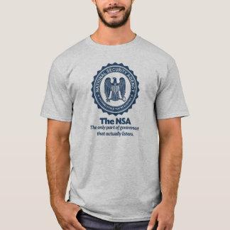 NSAのパロディのワイシャツ Tシャツ