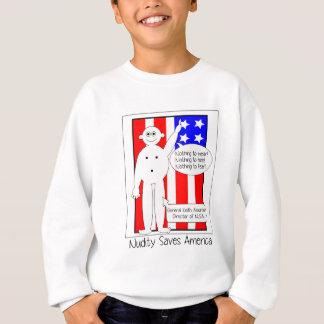 NSAはアメリカを救います スウェットシャツ
