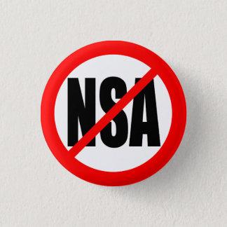 """""""NSA無し"""" 3.2CM 丸型バッジ"""