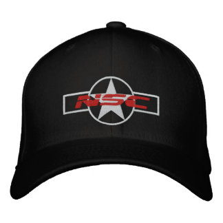 NSC P51の帽子 刺繍入りキャップ