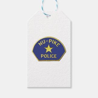 Nuパイクの警察 ギフトタグ