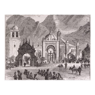 Nuestra Senora de Copacabanaの神社 ポストカード