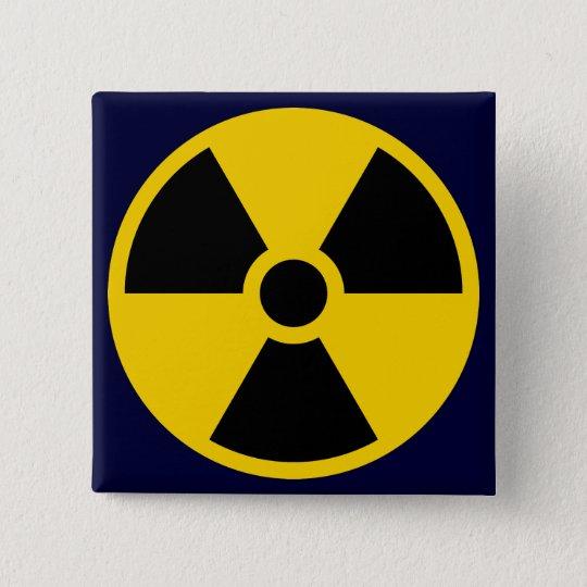 Nukes 5.1cm 正方形バッジ