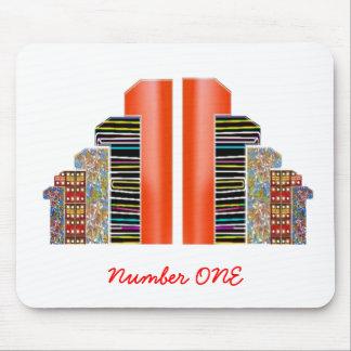 NumberONEタワーのチーム マウスパッド