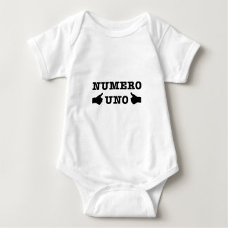 Numro Uno ベビーボディスーツ