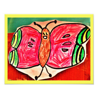 Nurahの幸せな蝶 フォトプリント