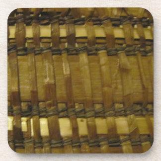 NWの海岸によって編まれる繊維 コースター