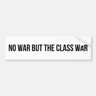 NWBTCW -共産主義の社会主義改革の政治 バンパーステッカー