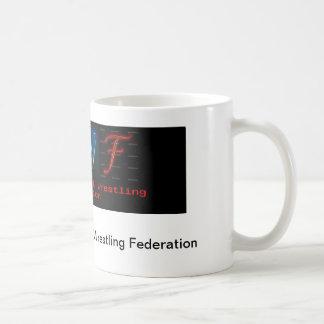 NWFのロゴのコーヒー・マグ コーヒーマグカップ