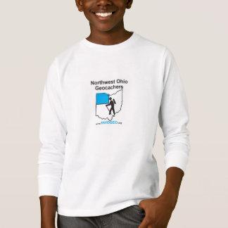 NWOGEOの子供の長袖のTシャツ Tシャツ
