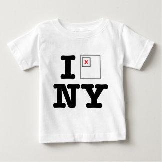 NYによって壊されるイメージ ベビーTシャツ