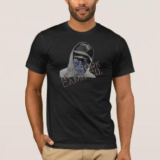 NYの迷彩柄Coのバンダナの耳が聞こえないニューヨーカーのTシャツ Tシャツ