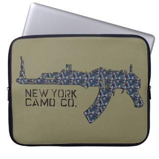 """NYの迷彩柄CO NY AKの迷彩柄15""""ラップトップのバッグ ラップトップスリーブ"""