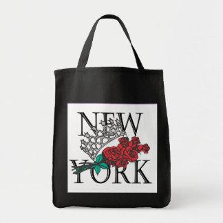 NYインターナショナル-黒いトート トートバッグ