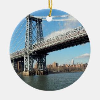 NY橋 セラミックオーナメント