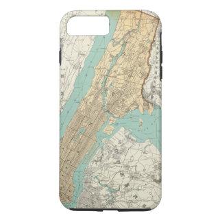 NY都市、ブルックリン iPhone 8 PLUS/7 PLUSケース