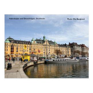 NybrokajenおよびStrandvägenの在庫… ポストカード