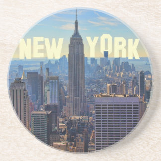 NYCのスカイラインのエンパイア・ステート・ビルディング、国際貿易2C コースター