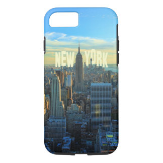 NYCのスカイラインのエンパイア・ステート・ビルディング、国際貿易2C iPhone 8/7ケース