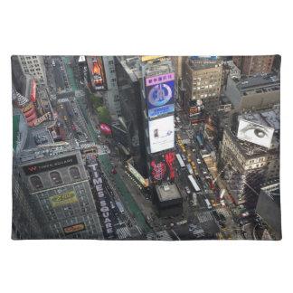 NYCのタイムズ・スクエア ランチョンマット