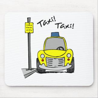 NYCのタクシー マウスパッド