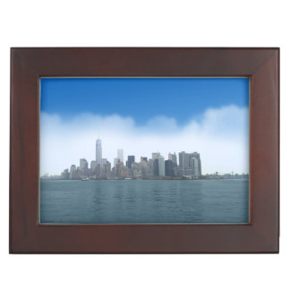NYCのデジタル澄んな空 ジュエリーボックス