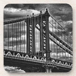 NYCのマンハッタン橋BW A1 コースター