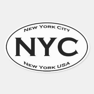 NYCのヨーロッパのスタイルの楕円形のロゴ 楕円形シール