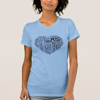 NYCのワイシャツ-スタイル及び色を選んで下さい Tシャツ