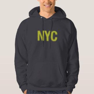 NYCの人のフード付きスウェットシャツ パーカ