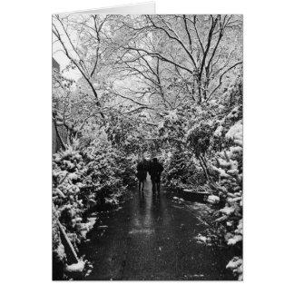 NYCの冬の不思議の国 カード