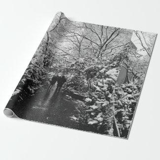 NYCの冬の不思議の国 ラッピングペーパー
