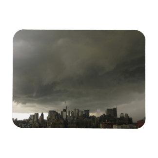 nycの嵐wtcの世界貿易センター無し マグネット