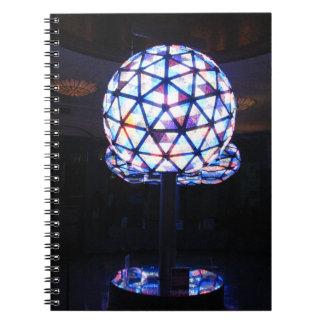 NYCの新年の球 ノートブック
