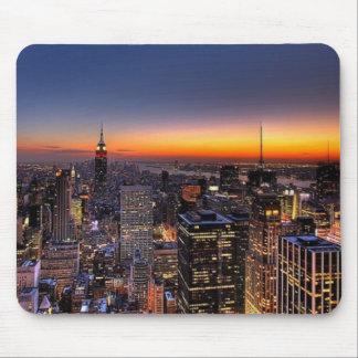 NYCの日没のマウスパッド マウスパッド