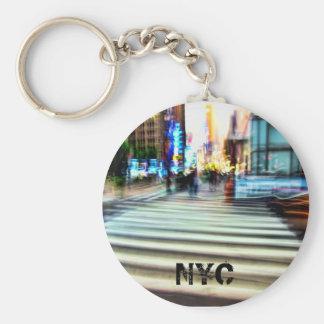 NYCの汚点の抽象芸術 キーホルダー
