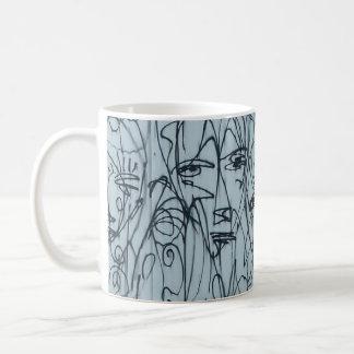NYCの落書きのコーヒー・マグ コーヒーマグカップ