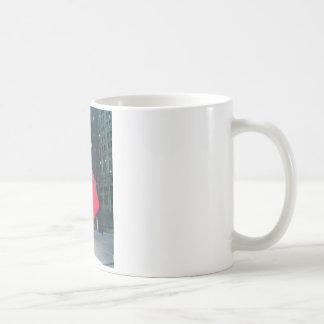 NYCの赤の立方体 コーヒーマグカップ