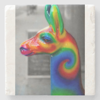 NYCの通りの写真撮影-虹動物の彫像 ストーンコースター