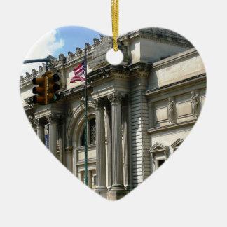 NYCの都会人博物館 セラミックオーナメント