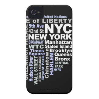NYCのiPhone 4の穹窖 Case-Mate iPhone 4 ケース