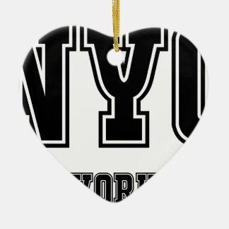 NYCニューヨークシティ セラミックオーナメント
