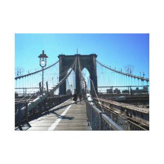 NYCブルックリン橋 キャンバスプリント