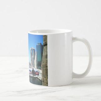 NYCマンハッタン桟橋 コーヒーマグカップ