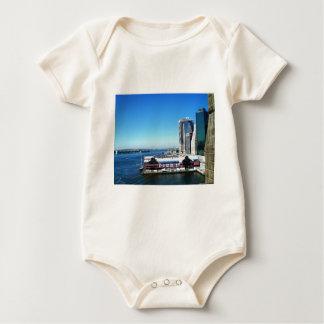 NYCマンハッタン桟橋 ベビーボディスーツ