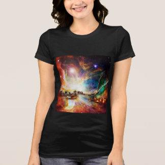 NYC対星雲 Tシャツ