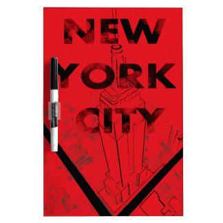 NYC板 ホワイトボード