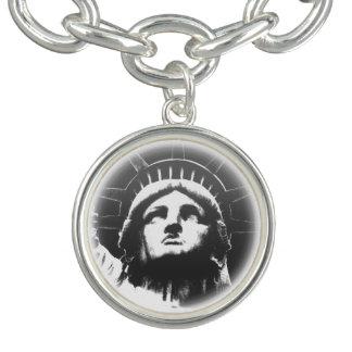 NYC記念品ニューヨークのブレスレットの自由の女神 チャームブレスレット