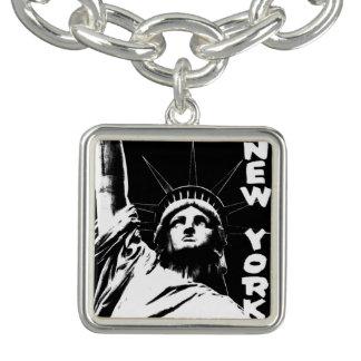 NYC記念品ニューヨークのブレスレットの自由の女神 チャームブレス