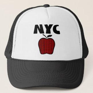 NYC -すべての5つの自治区が付いている大きいApple キャップ